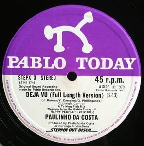 Single Cover Paulinho - Deja Vu Da Costa
