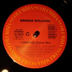 Single Cover Deniece - I Confess Williams