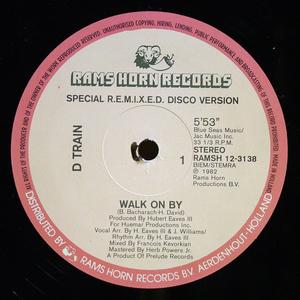 Single Cover D-train - Walk On By (special Remixed Disco Version)