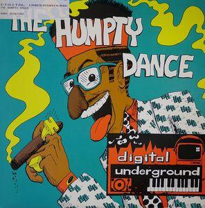 Single Cover Digital Underground - The Humpty Dance