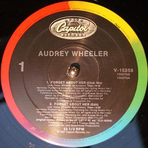 Single Cover Audrey - Forget About Her Wheeler