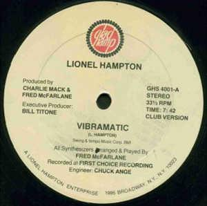 Single Cover Lionel - Vibramatic Hampton