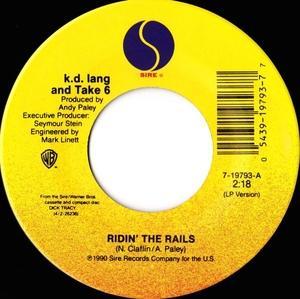 Single Cover Take 6 - Ridin' The Rails