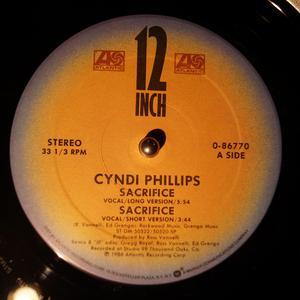 Single Cover Cyndi - Sacrifice Phillips