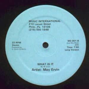 Single Cover May - What Is It Ervin