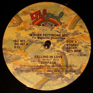 Single Cover Surface - Falling In Love