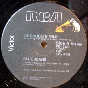 Single Cover Chocolate Milk - Blue Jeans