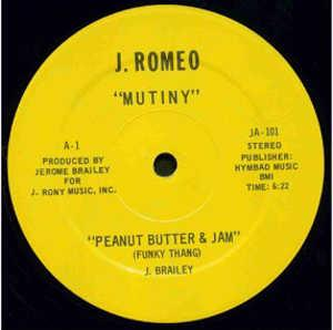 Single Cover Mutiny - Peanut Butter & Jam (funky Thang)