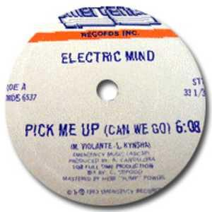 Single Cover Electric Mind - Pick Me Up (can We Go)