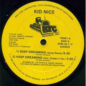 Single Cover Kid Nice - Keep Dreaming