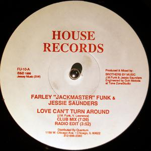 Single Cover Farley Jackmaster Funk - Love Can't Turn Around