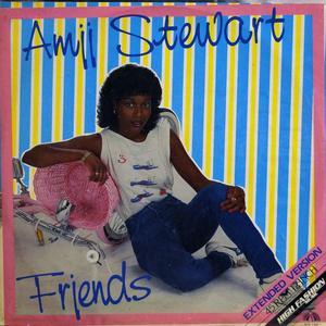 Single Cover Amii - Friends Stewart