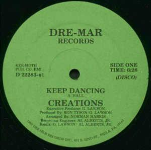 Single Cover The - Keep Dancing Creations