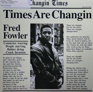 Single Cover Fred - Times Are Changin Fowler