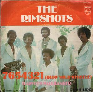 Single Cover The - 7654321 (blow Your Whistle) Rimshots