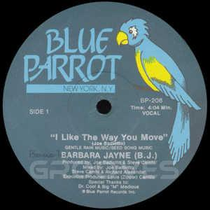 Single Cover Barbara - I Like The Way You Move Jayne