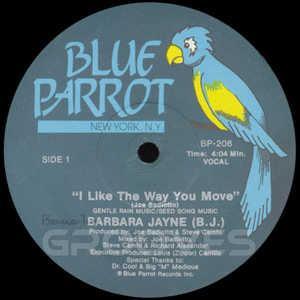 Single Cover Barbara - I Like The Way You Move Jayne