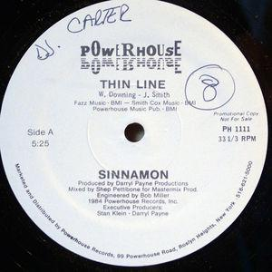 Single Cover Sinnamon - Thin Line