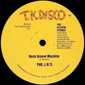 Single Cover The - Rock Groove Machine J. B.'s