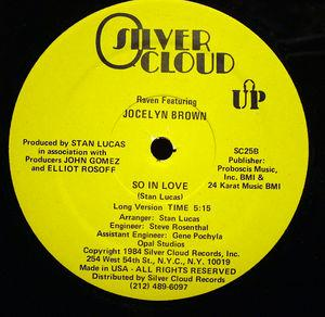 Single Cover Jocelyn - So In Love Brown