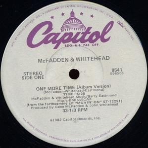 Single Cover Mcfadden And Whitehead - One More Time