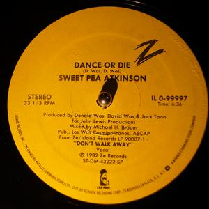 Single Cover Sweet Pea - Dance Or Die Atkinson