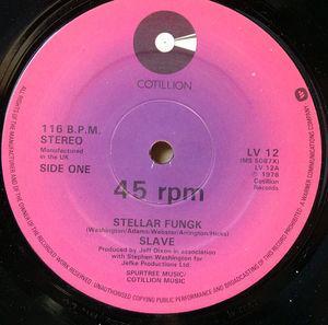 Single Cover Slave - Stellar Fungk