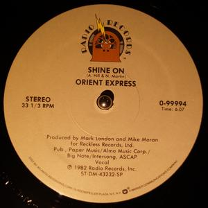 Single Cover Orient Express - Shine On