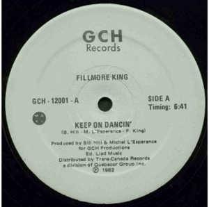 Single Cover Fillmore King - Keep On Dancin'