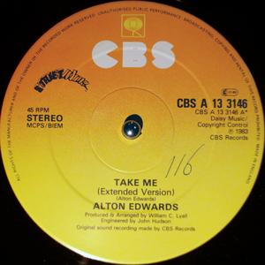 Single Cover Alton - Take Me Edwards