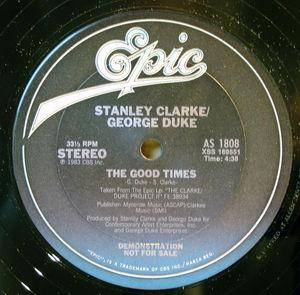 Single Cover Stanley - The Good Times Clarke And George Duke