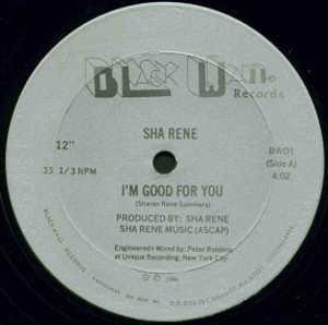 Single Cover Sha - I'm Good For You Rene
