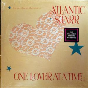 Single Cover Atlantic Starr - One Lover At A Time