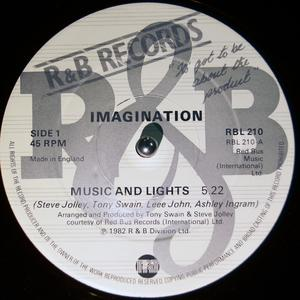 Single Cover Imagination - Music And Lights