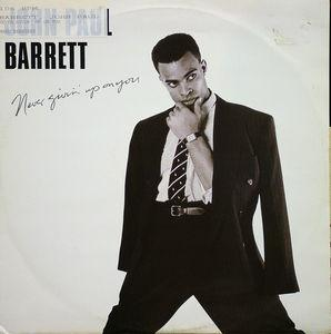 Single Cover John Paul - Never Givin' Up On You Barrett