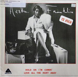 Single Cover Aretha - Hold On I'm Coming Franklin