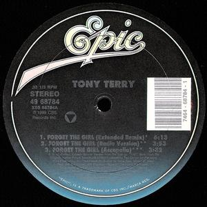 Single Cover Tony - Forget The Girl Terry