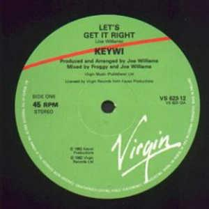 Single Cover Keywi - Let's Get It Right
