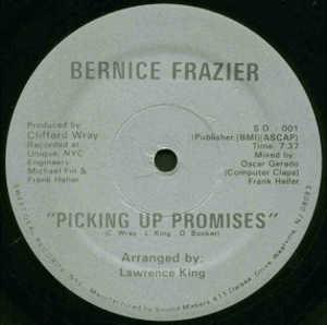 Single Cover Bernice - Picking Up Promises Frazier