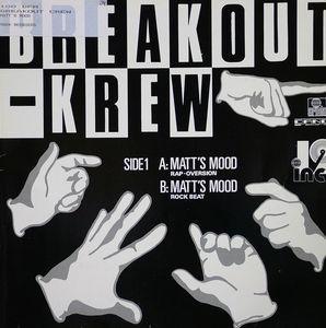 Single Cover Breakout Krew - Matt's Mood
