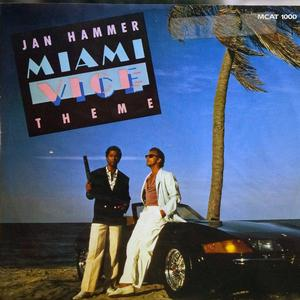 Single Cover Jan - Miami Vice Theme Hammer