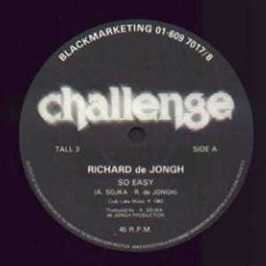 Single Cover Richard De - So Easy Jongh
