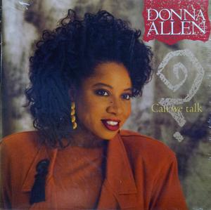 Single Cover Donna - Can We Talk Allen