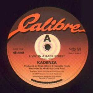 Single Cover Kadenza - Livin' In A Back