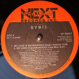 Single Cover Sybil - My Love Is Guaranteed