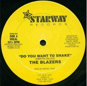 Single Cover The - Do You Want To Shake Blazers