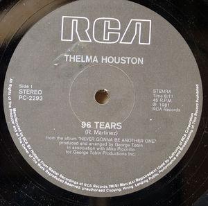 Single Cover Thelma - 96 Tears Houston