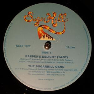 Single Cover Sugarhill Gang - Rapper's Delight