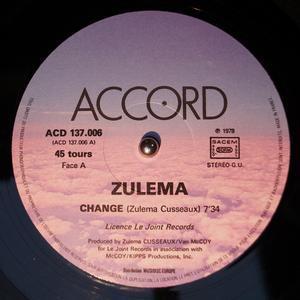 Single Cover Zulema - Change