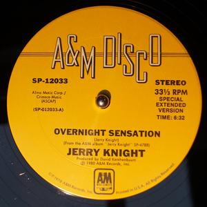 Single Cover Jerry - Overnight Sensation Knight